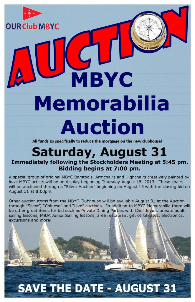 MBYC Auction Poster